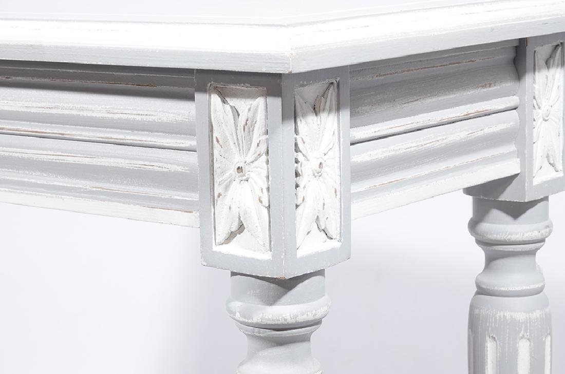 Louis XVI Style Painted Console - 4