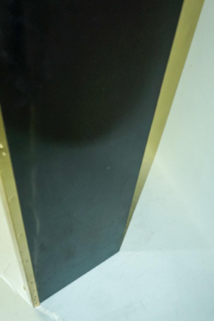 Pair Brass Clad Columns - 8