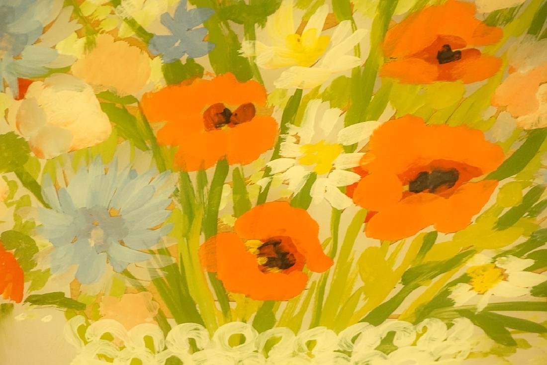 """Chabor, Moura (1905 – 95) """"Floral Still Life"""" - 5"""
