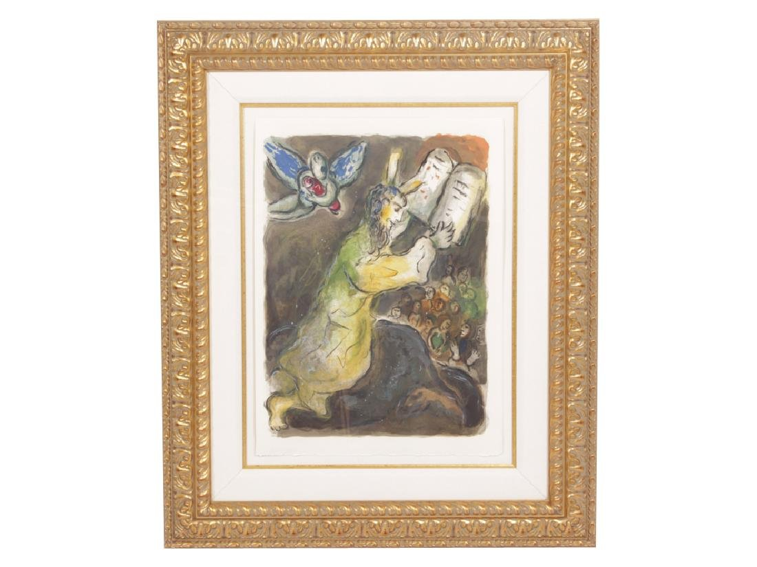 """CHAGALL, MARC (Russian, 1887-1985), """"Then Moses.."""""""