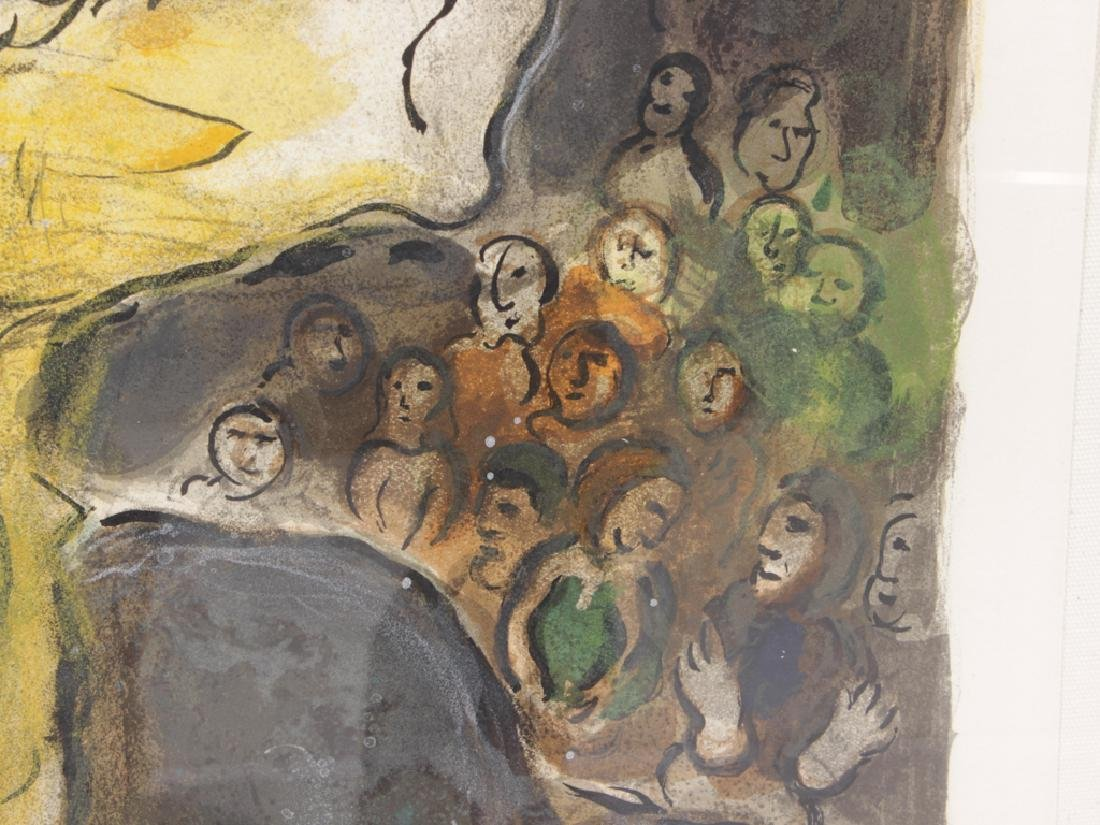 """CHAGALL, MARC (Russian, 1887-1985), """"Then Moses.."""" - 2"""