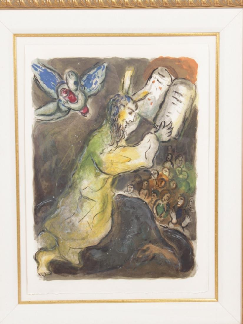"""CHAGALL, MARC (Russian, 1887-1985), """"Then Moses.."""" - 3"""