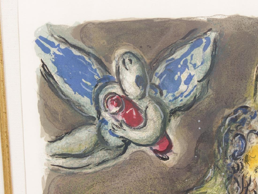 """CHAGALL, MARC (Russian, 1887-1985), """"Then Moses.."""" - 6"""