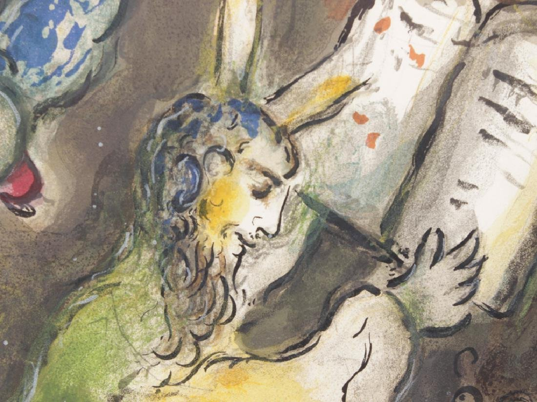 """CHAGALL, MARC (Russian, 1887-1985), """"Then Moses.."""" - 7"""