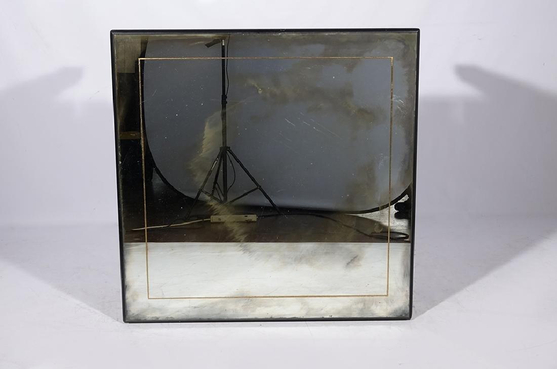 HOLLYWOOD REGENCY Antiqued Mirror Coffee Table - 2
