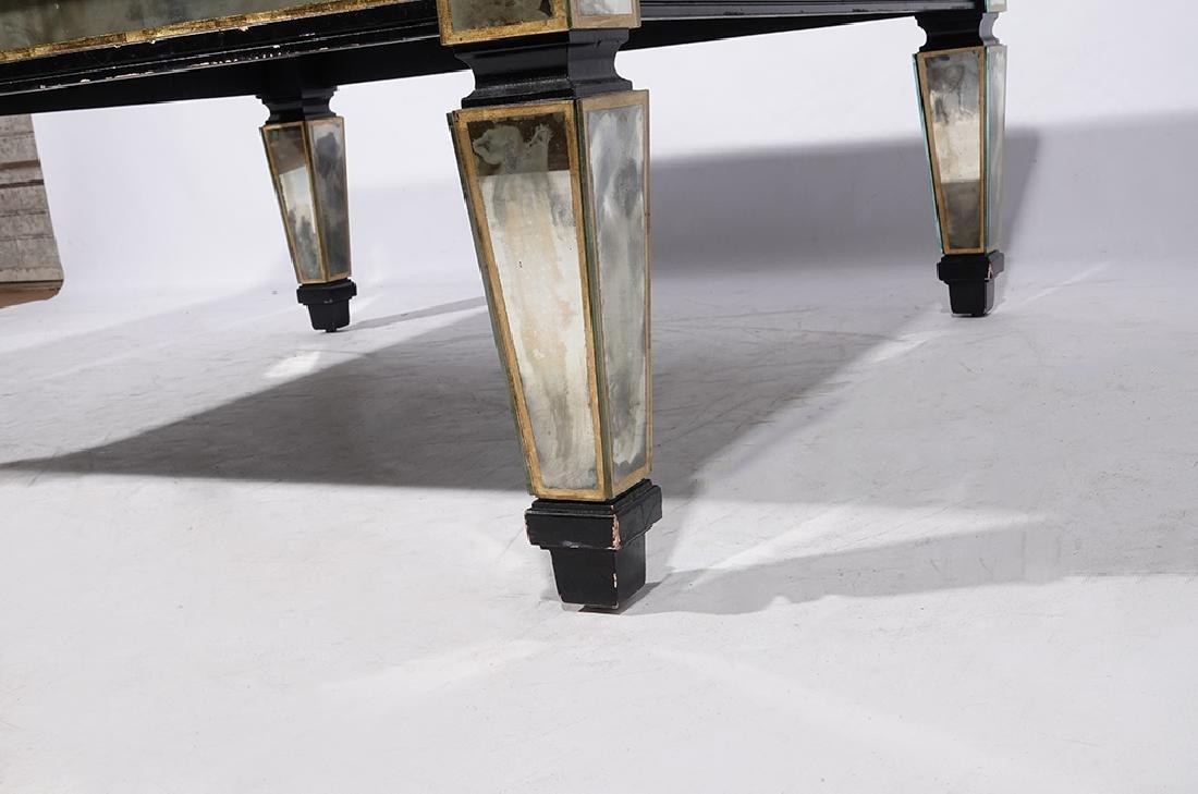 HOLLYWOOD REGENCY Antiqued Mirror Coffee Table - 5