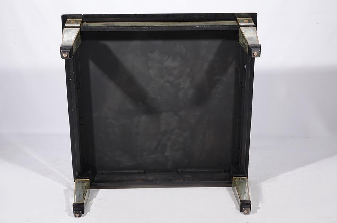 HOLLYWOOD REGENCY Antiqued Mirror Coffee Table - 7