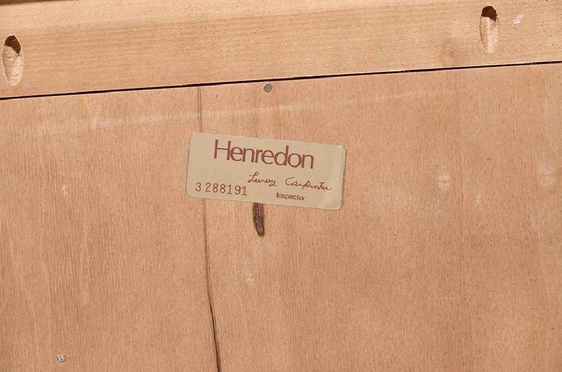 Pair of HENREDON Louis XV Style Bedside Chests - 2