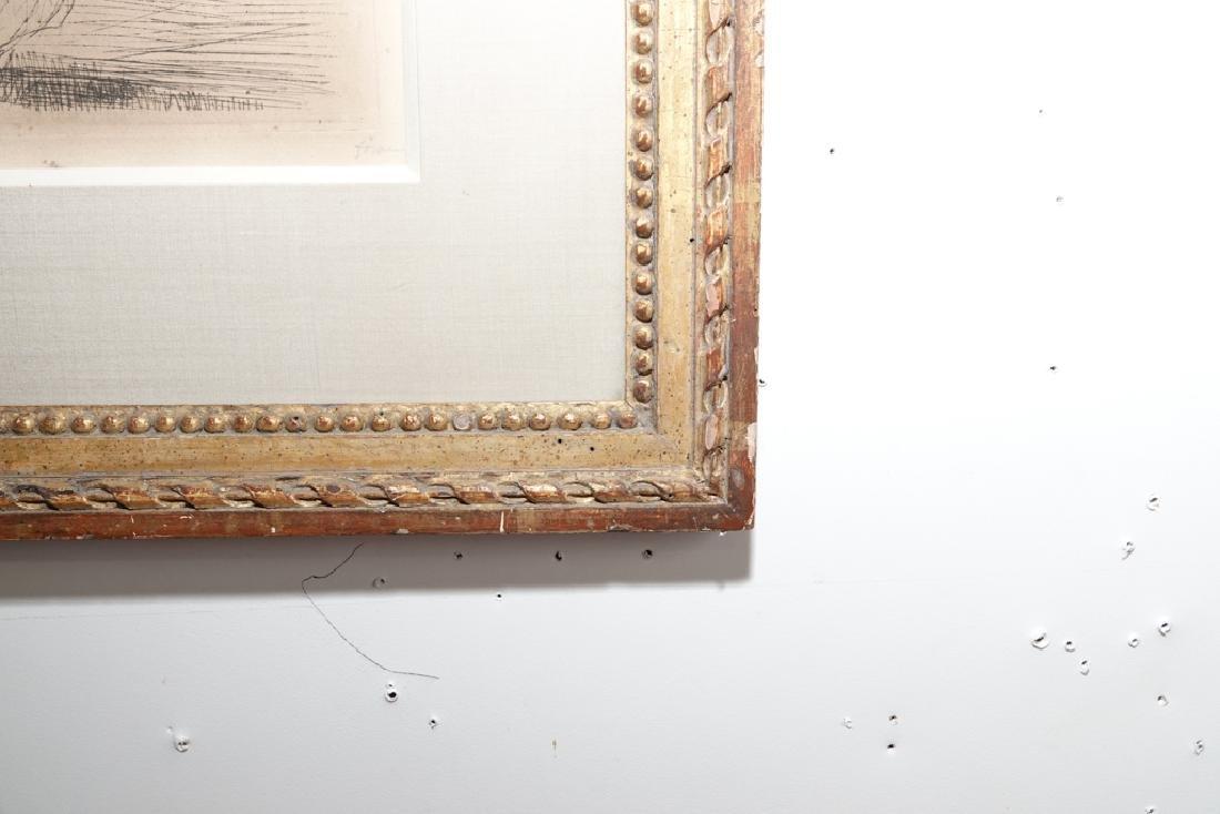 FORAIN, J. L. (Fr 1852 -1931) Courtroom I Etching - 4
