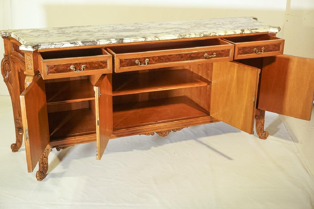 Monumental French Marble Top Server - 5
