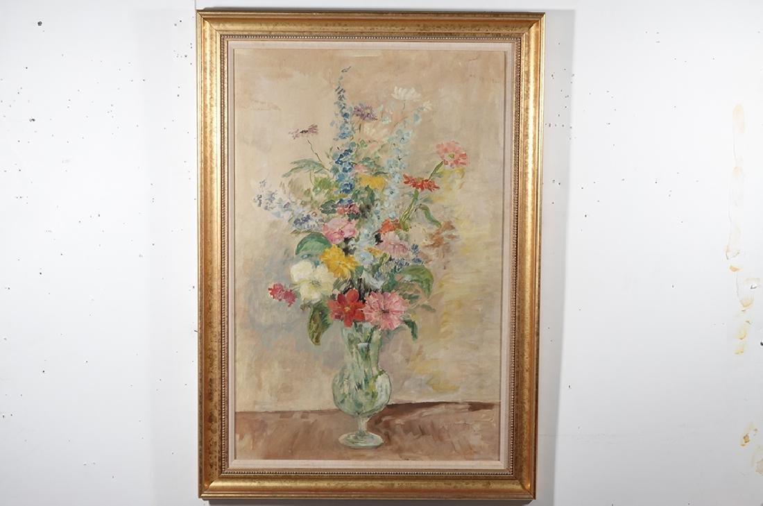 Jennings, Polly (American 21st ) Floral Still Life - 2