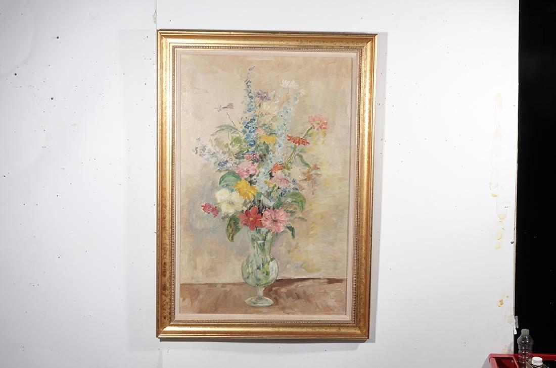 Jennings, Polly (American 21st ) Floral Still Life - 3