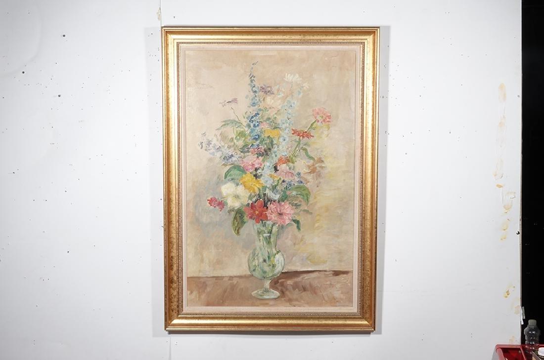 Jennings, Polly (American 21st ) Floral Still Life - 4