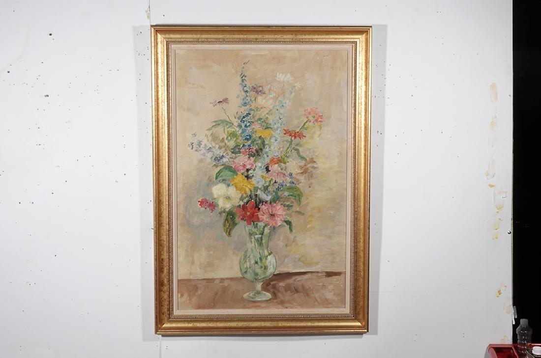 Jennings, Polly (American 21st ) Floral Still Life - 5