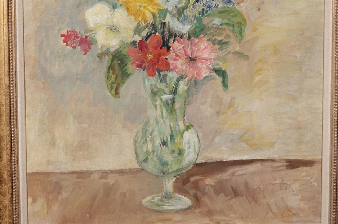 Jennings, Polly (American 21st ) Floral Still Life - 8