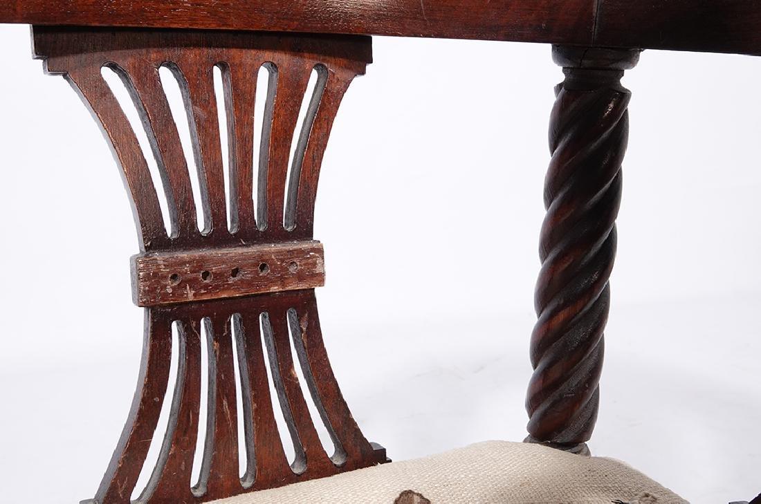 George III Style Miniature Corner Chair - 3