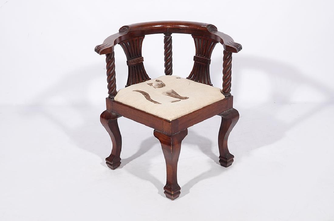 George III Style Miniature Corner Chair - 5