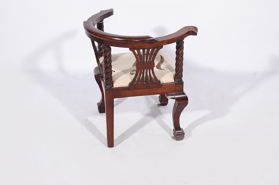 George III Style Miniature Corner Chair - 6