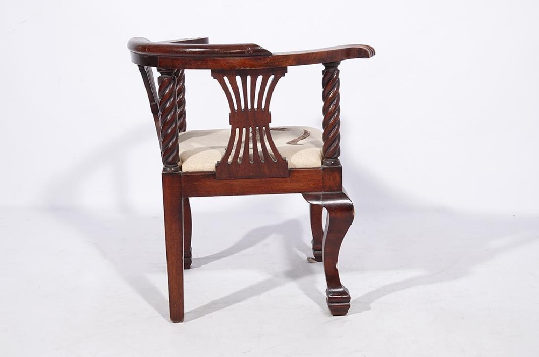 George III Style Miniature Corner Chair - 7