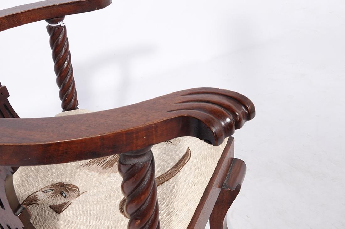George III Style Miniature Corner Chair - 9