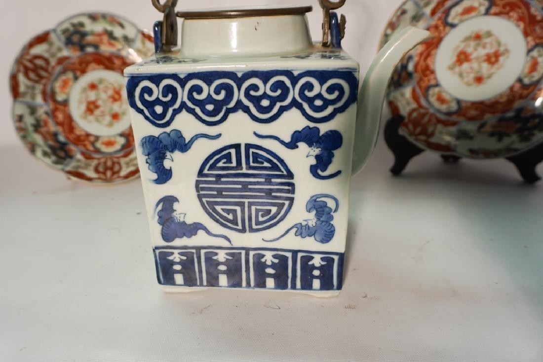 Chinese Porcelain Teapot - 10