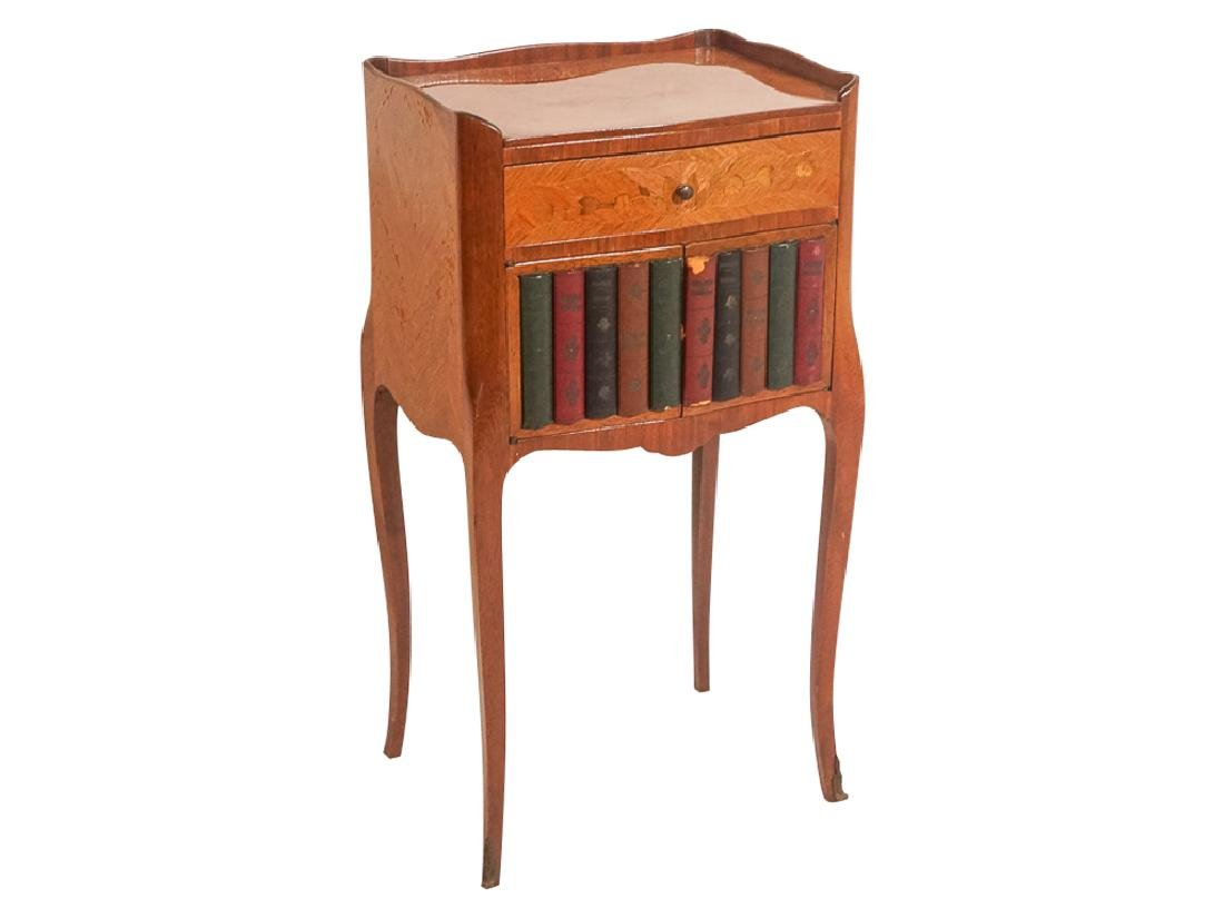 Diminutive French Marquetry Side Table