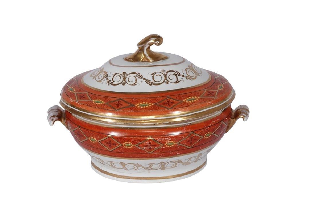 Directoire Style Porcelain Tureen