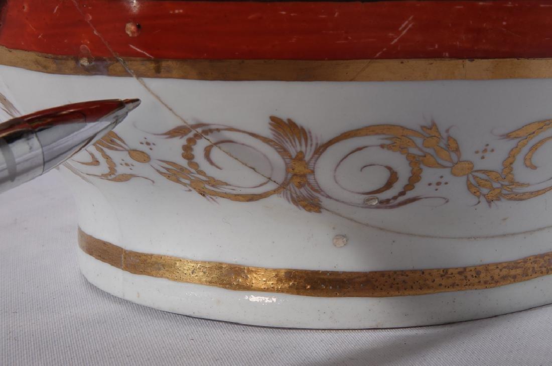 Directoire Style Porcelain Tureen - 3