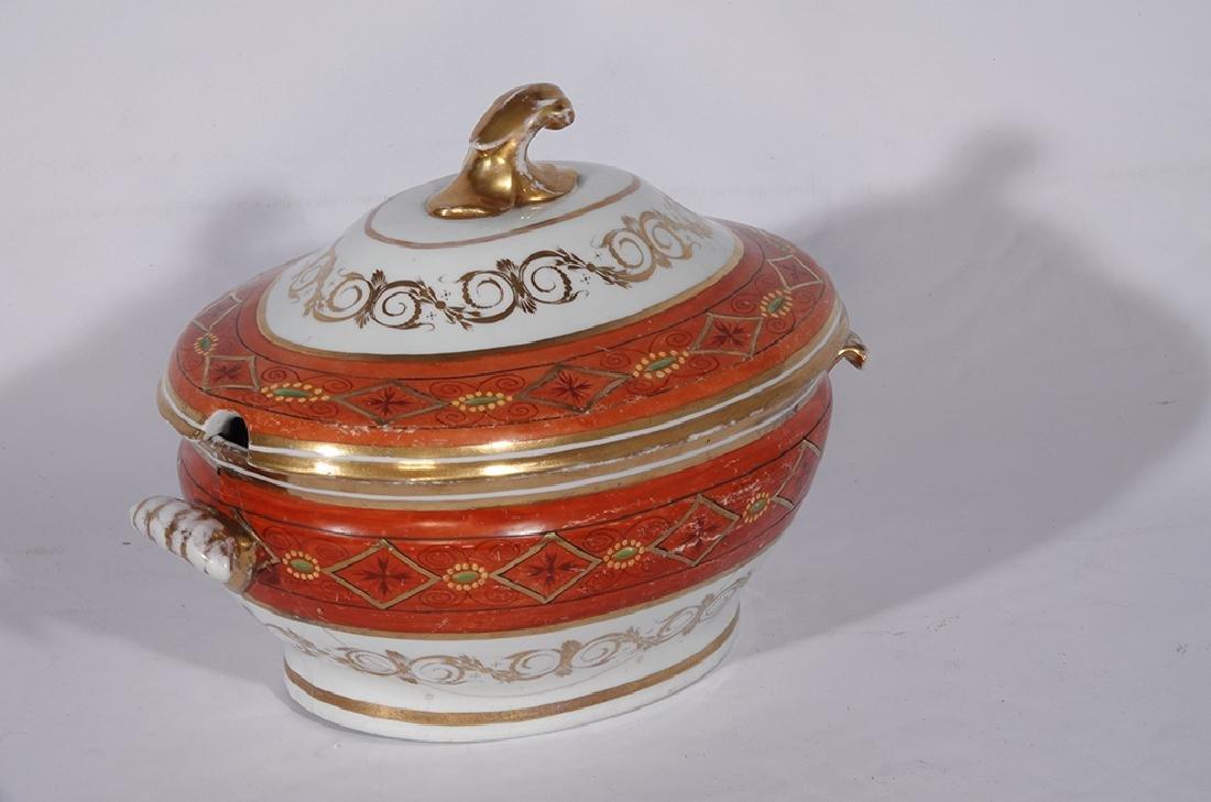 Directoire Style Porcelain Tureen - 4
