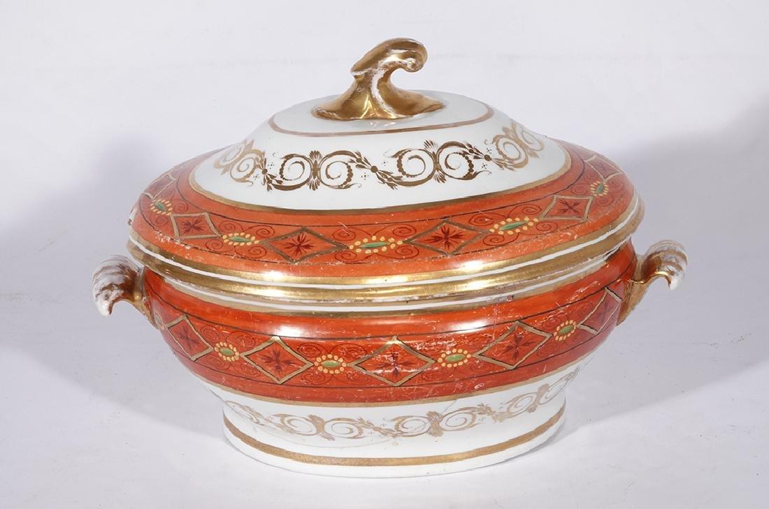 Directoire Style Porcelain Tureen - 6