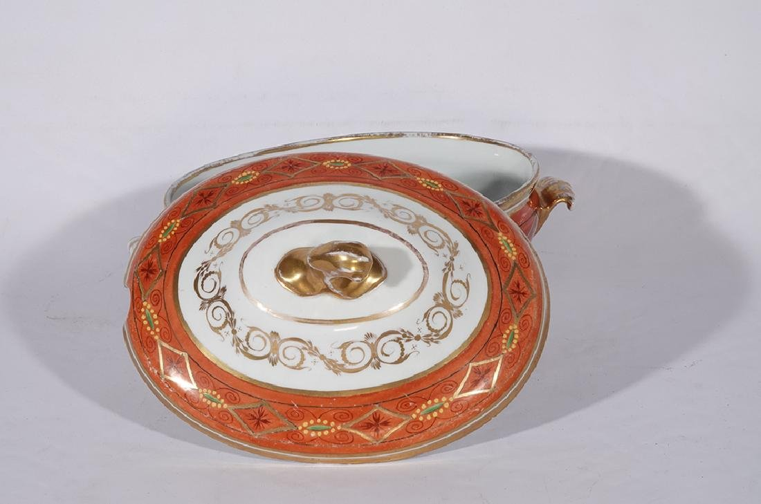 Directoire Style Porcelain Tureen - 8