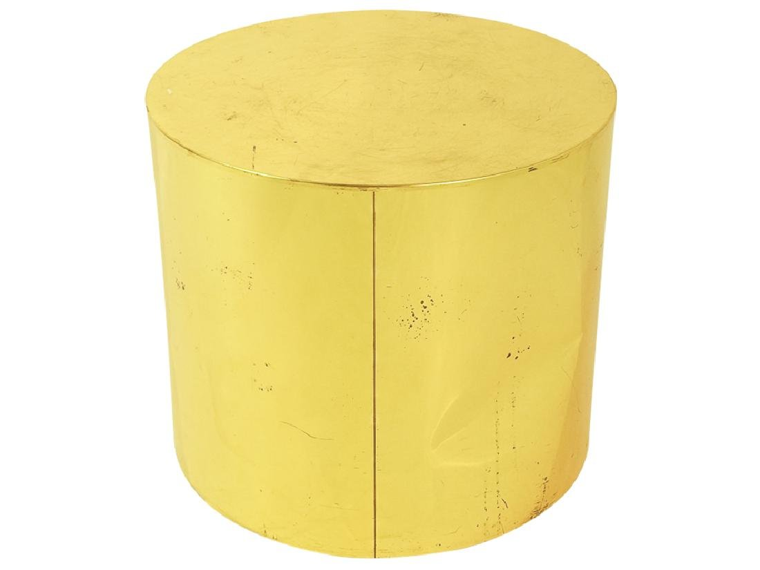Midcentury Curtis JERE Signed Brass Side Table