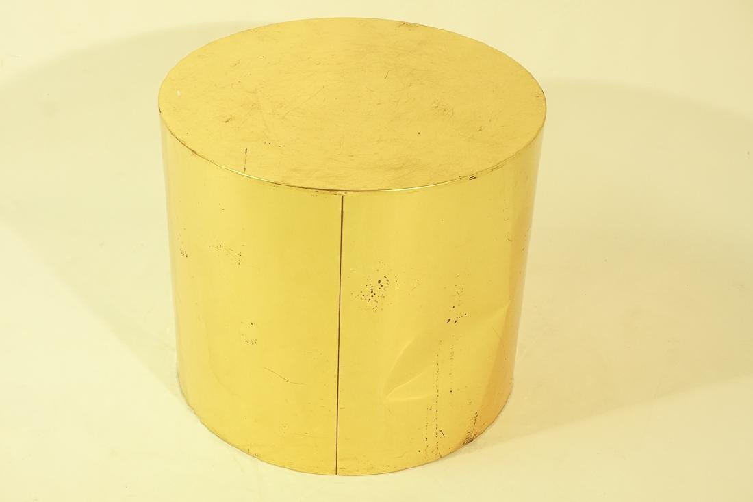 Midcentury Curtis JERE Signed Brass Side Table - 2