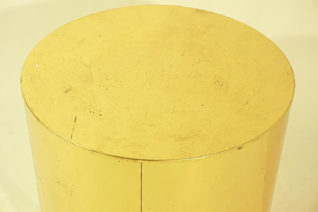 Midcentury Curtis JERE Signed Brass Side Table - 5