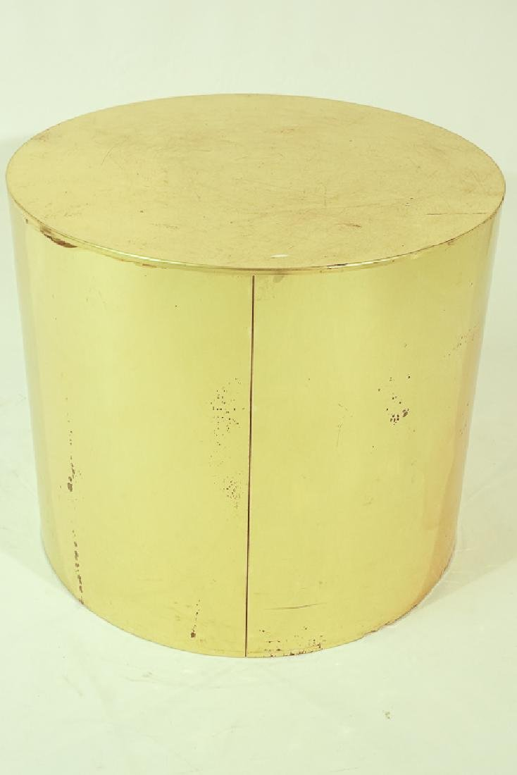 Midcentury Curtis JERE Signed Brass Side Table - 6