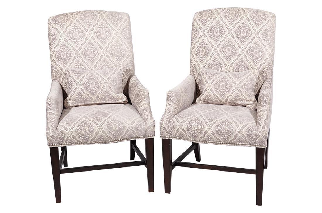 Pair Diminutive Armchairs