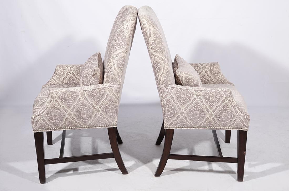 Pair Diminutive Armchairs - 4