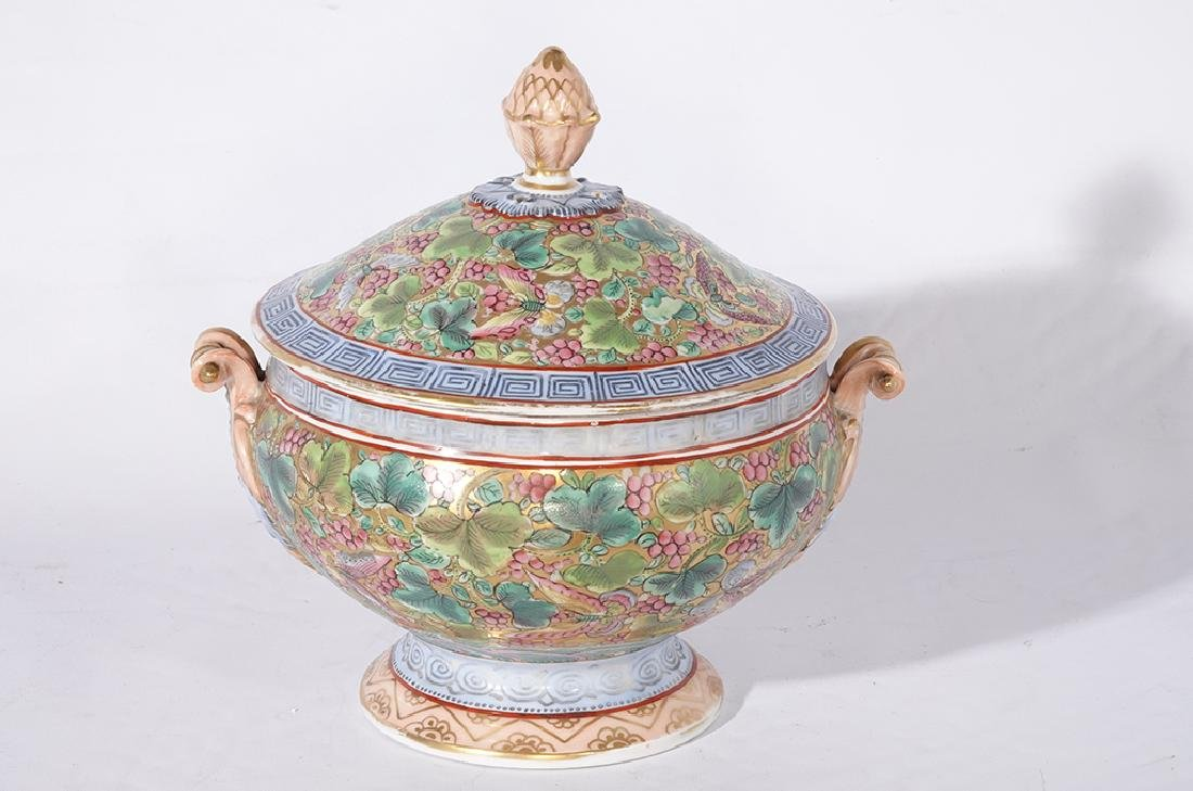 Chinese Porcelain Tureen - 2