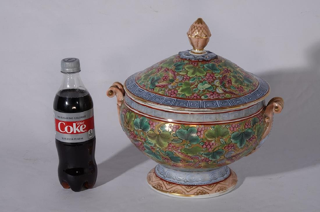 Chinese Porcelain Tureen - 4