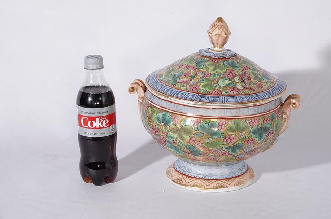 Chinese Porcelain Tureen - 5