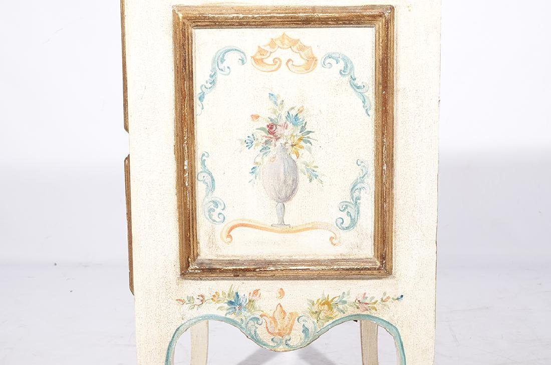 Italian Style Faux Painted Commode - 5