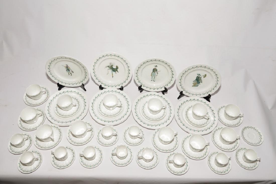 Partial Set ROYAL WORCESTER China,  Savoy Hotel - 10