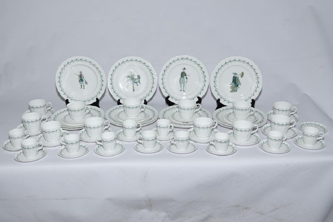 Partial Set ROYAL WORCESTER China,  Savoy Hotel