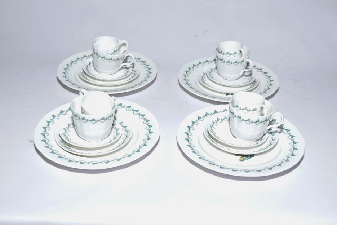 Partial Set ROYAL WORCESTER China,  Savoy Hotel - 3