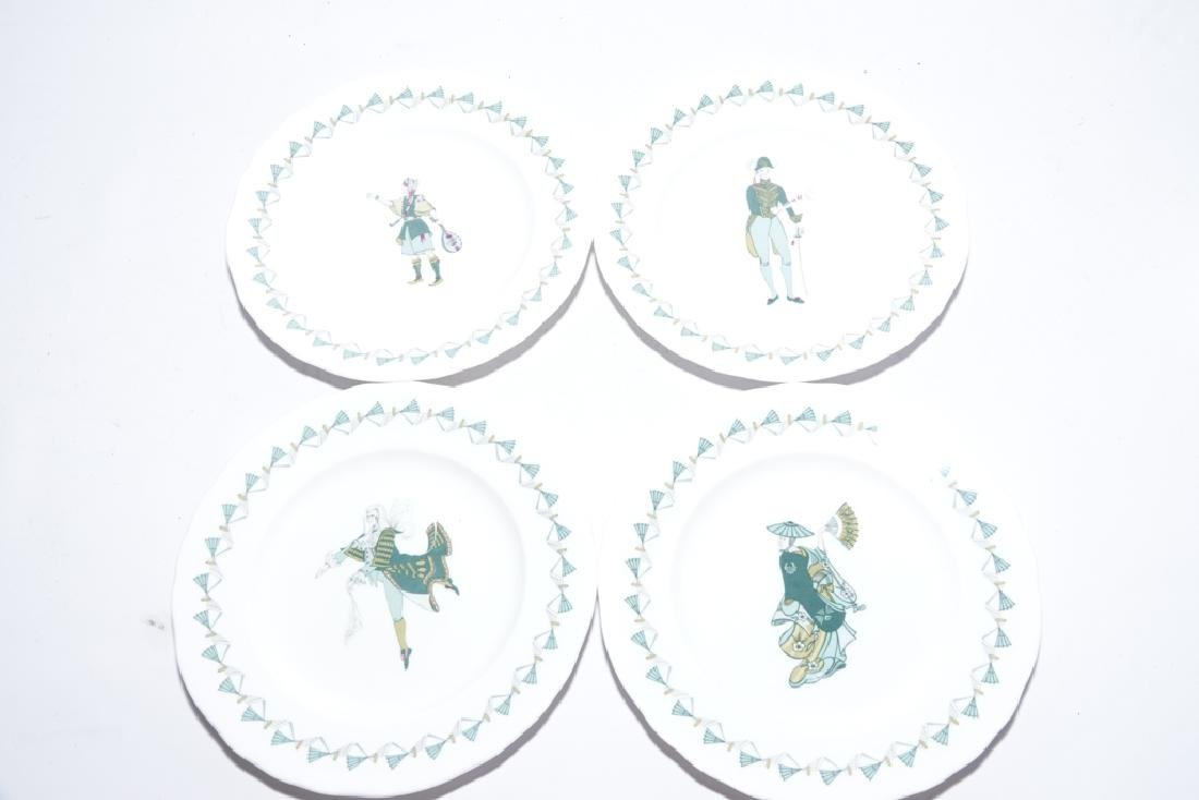 Partial Set ROYAL WORCESTER China,  Savoy Hotel - 4