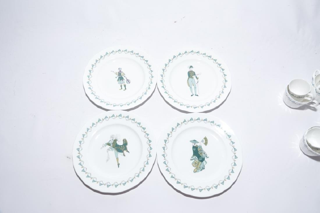 Partial Set ROYAL WORCESTER China,  Savoy Hotel - 5