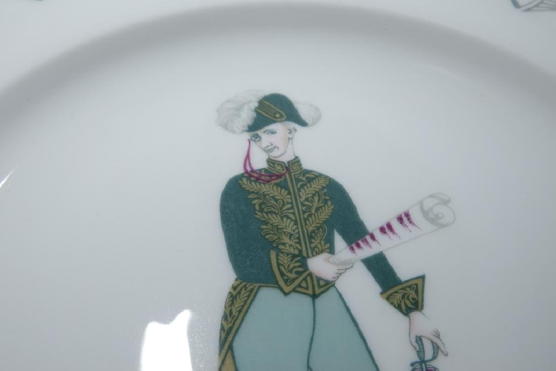 Partial Set ROYAL WORCESTER China,  Savoy Hotel - 9