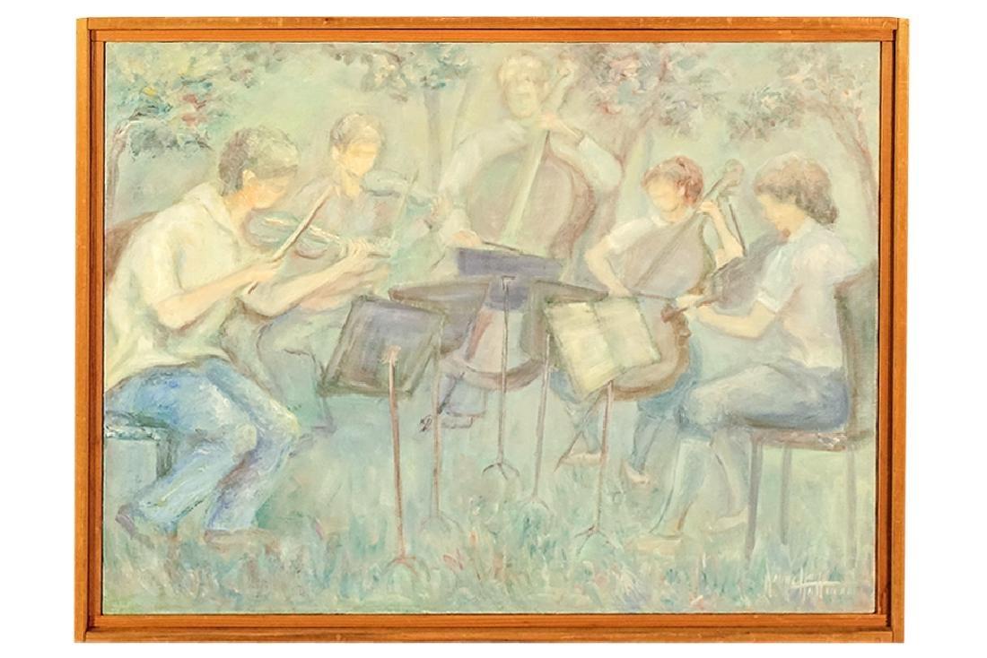 """Hoffman, N. ('29 - 2010)  """"Quintet at Interlochen"""""""