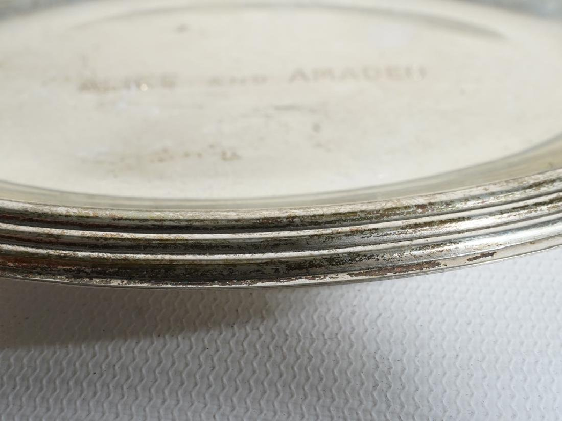Lot Sterling & .835 Silver Plates /  Dishes - 8