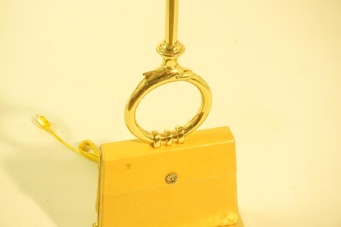 Leather Purse Lamp by CHAPMAN - 4